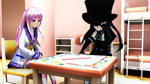 MMD Playing Monopoly by Chiba-Taiki