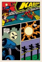 Lady Spectra and Sparky: Symbiotic Man pg. 09 by JKCarrier