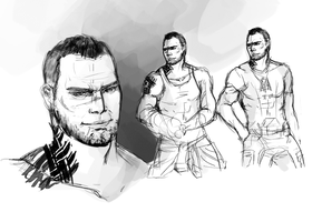 James Vega - Sketches by pic-char
