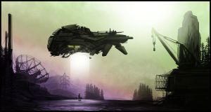 Speedpainting Abduction 01 by rickystinger88
