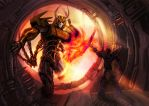 KTE: Unicron's fall by Naihaan