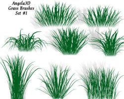 A3D Grass Brushes for PSP by angela3d