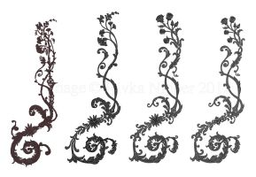 Commission: Acanthus Tattoo by RivkaZ