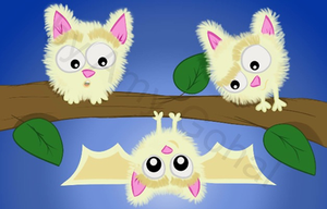 Revamped my marshmallow bats  by amy3dtd