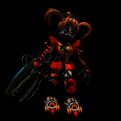 FNaF 6 Scrap Baby | Done by EndyArts