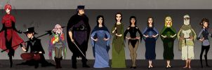 Wheel Of Time Chars by Sir-Heartsalot