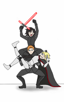First Order Trio by Howlinghill