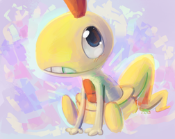 Quick Paint Scraggy by CrazyIguana