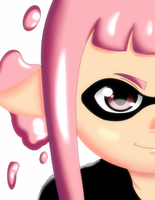 Splatoon Inkling by mjwrightarts