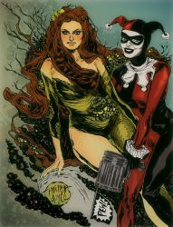'Fatales' - Ivy and Harley by mysteryming
