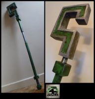 Arkham City - Riddler Cane by 4thWallDesign