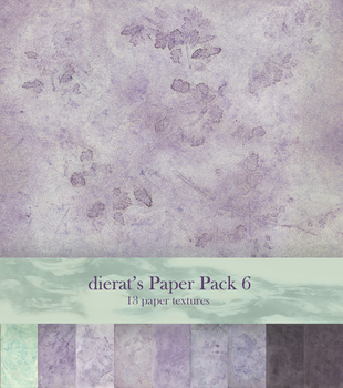Paper Pack 6 by dierat