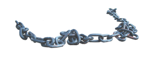 Old Heavy Duty Chain PNG.. by AledJonesDigitalArt