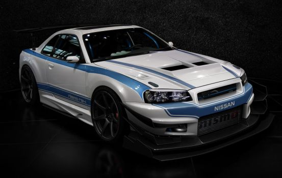 nissan r34 time attack by hugosilva