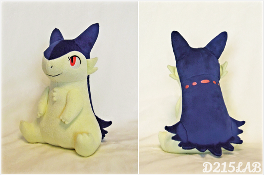 Typhlosion Plush by d215lab