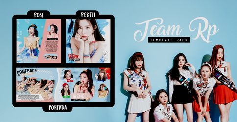 Special templates  +Team Rp {MINIPACK} by Bubblegomi