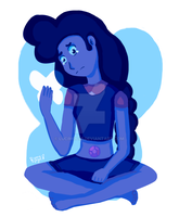 Here Comes a Thought - Stevonnie Fan Art by LuciMochi