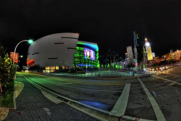 American Airlines Arena, Miami by Aerostylaz