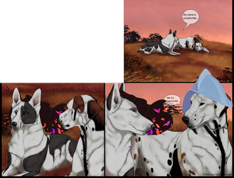 Lolome page183 - Pocaira and Keirr Smith by Zeldienne