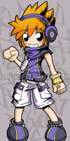 Neku - The World Ends With You by amy-art