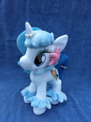 .:Commission:. Custom Pony Plush by MousehMakes