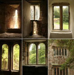 Castle Windows Pack by RaeyenIrael-Stock