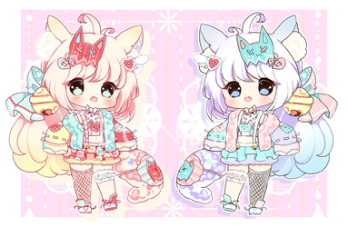 Bell Neko Adopt -ON HOLD (Auction) by bunbby
