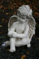 Angel statue stock 15 by Malleni-Stock