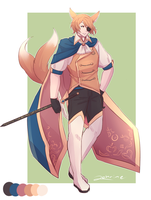 Adoptable Auction: Fennec Prince : 16 [Closed] by Zehrine