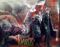 Fantastic Magical Beasts Harry Potter by VaLeNtInE-DeViAnT