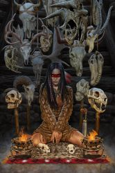 Reader of Bones by MitchFoust