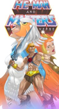 He man and the masters of universe by etavitas