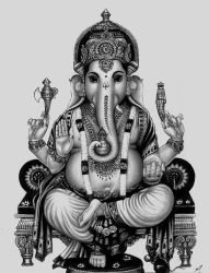 Lord Ganesha by Electricgod