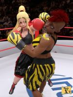 Sofia vs Tanya - The Queen taming the Tigress by mysticx1