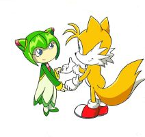 Tails and Cosmo by BrendaBsi