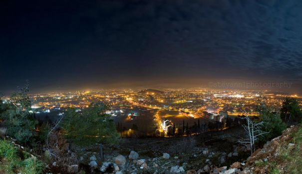 Podgorica Panorama by StevaNN