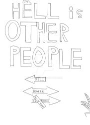 Cover for Hell is Other People by Samastol
