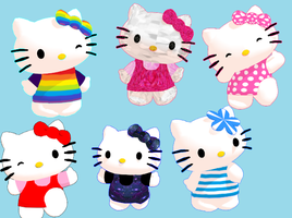 Random Hello Kitty pack + Download by Aira-Melody