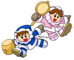 Ice Climbers by EnterPraiz