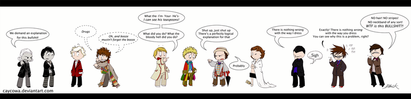 Doctor Who - The Best Dressed? by caycowa