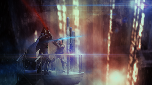 Star Wars -  The Fight by Aste17