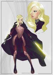 KOTOR 3: Naia the Seeker by CGEntertainment by SpectorKnight