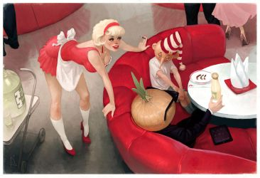 Onion cream f by Waldemar-Kazak