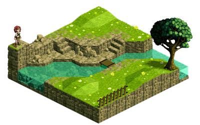 Isometric Landscape no.4 by Fidorka69