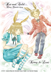 Kimy and Leni in Wonderland by Marisol-Maryline