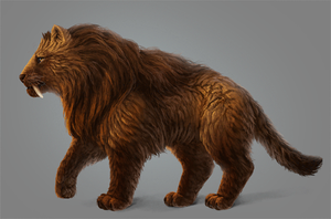 Paint Realistic Long Fur Without a Fur Brush in PS by MonikaZagrobelna