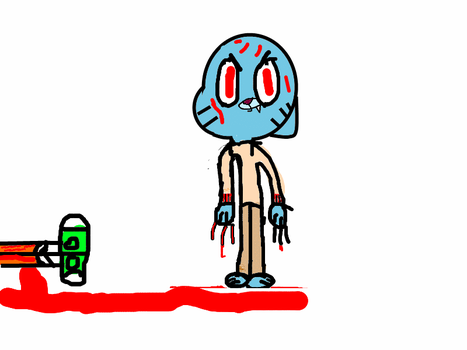 gumball wants to kill you by firebird268