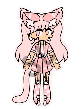 {CLOSED!/CHEAP AUCTION} - Star Girl by CheapClothesAdopts