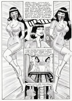 Lin 3 Comissioned Comic by osvaldogreco