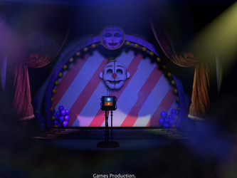 Ballora Gallery - FNAF SL Map! (6K) Release Update by GamesProduction